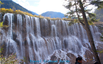 Waterfall of Jiuzhaigou
