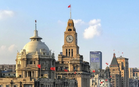Shanghai buildings by the Huangpu River..jpg