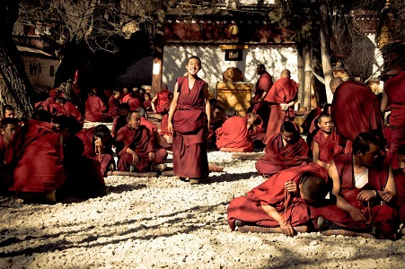 Sera Monastery's Monks Debiting.jpg