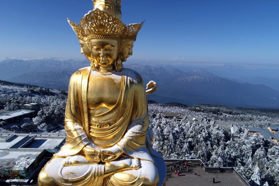 Golden Summit Buddha Statue