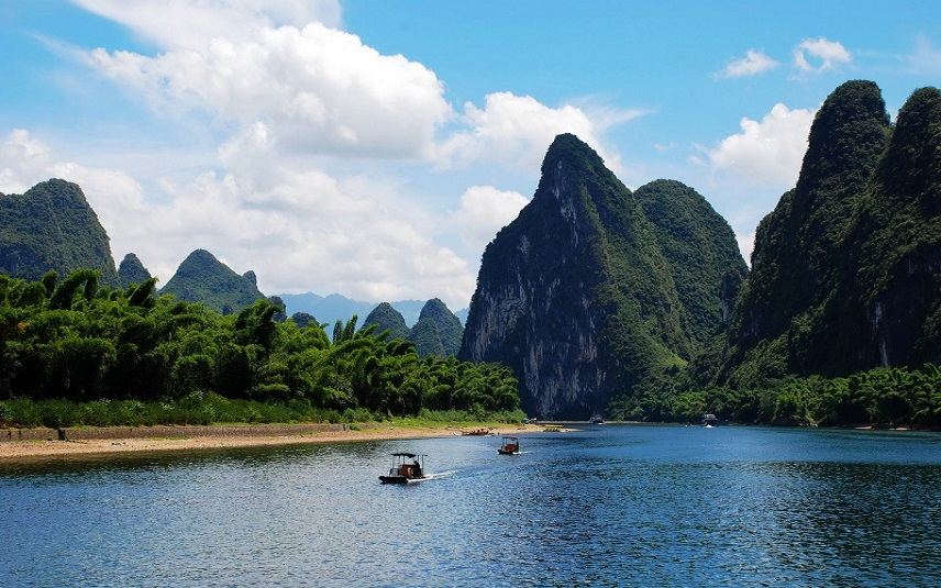 1 Day Li-River Crusie Big Boat Guilin to Yangshuo( Group tour)