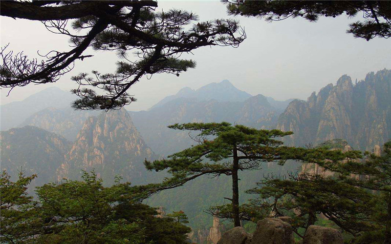 View of Huangshan