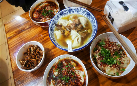 Local Sichuan Dishes