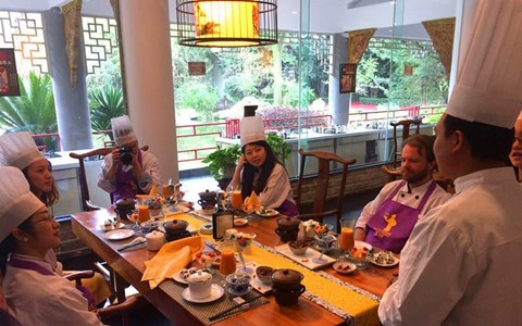 Sichuan Cuisine-Themed Museum Cooking Experience 1 Day Tour(Group tour)